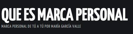 logo marca personal